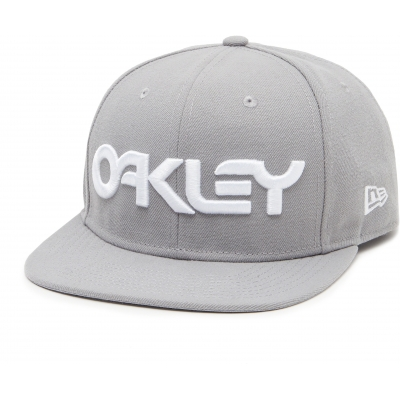 OAKLEY kšiltovka MARK II NOVELTY SNAP BACK stone grey
