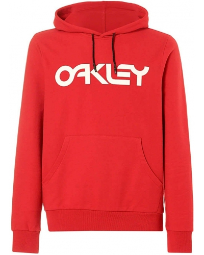 OAKLEY mikina B1B PO samba red
