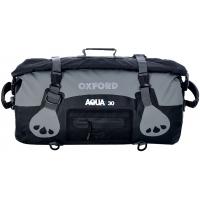 OXFORD roll bag T30 OL990 black/grey