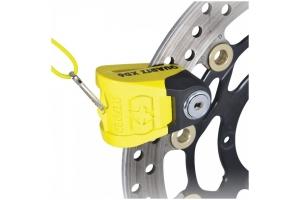 OXFORD kotoučový zámek QUARTZ XD10 LK267 yellow/black