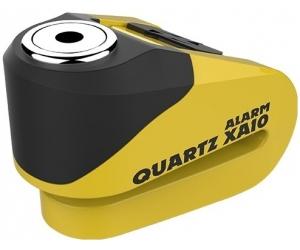 OXFORD kotoučový zámek QUARTZ XA10 LK216 Alarmový yellow/black