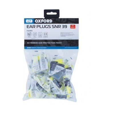 OXFORD špunty do uší EAR PLUGS SNR 39 OX625