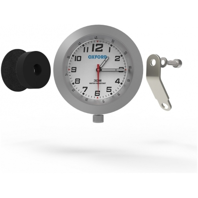 OXFORD hodiny ANACLOCK OX560 silver