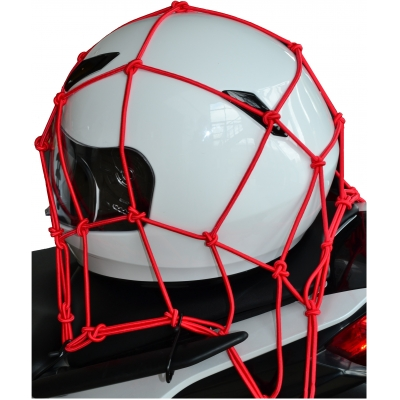 OXFORD síť CARGO NET 30x30cm OX664 red