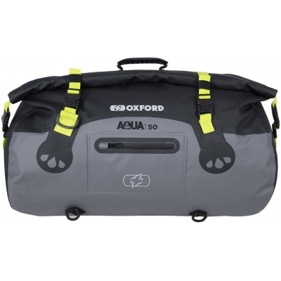 OXFORD roll bag T50 OL462 black/grey/fluo yellow