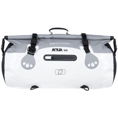 OXFORD roll bag T50 OL492 white/grey