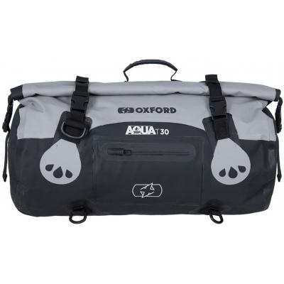 OXFORD roll bag T30 OL481 black/grey