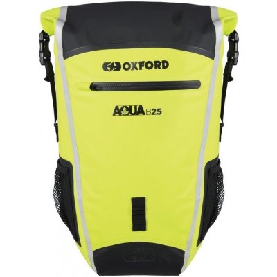 OXFORD batoh B25 OL476 black/fluo yellow 25L
