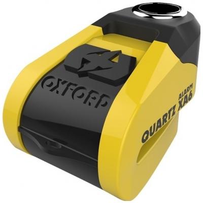 OXFORD kotúčový zámok QUARTZ XA6 LK215 yellow / black