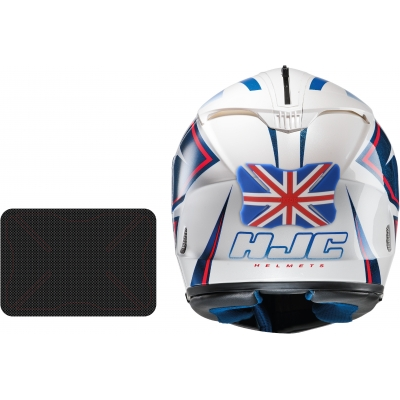 OXFORD chránič helmy BUMPER OX525 Carbon weave
