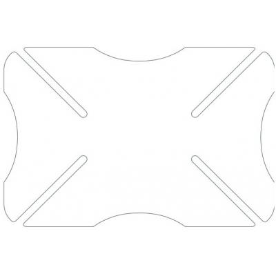 OXFORD chránič helmy BUMPER OX530 Transparent