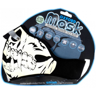 OXFORD maska NW500 Glow skull