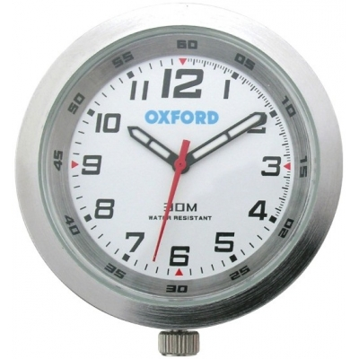 OXFORD hodiny CLOCK OF218W silver