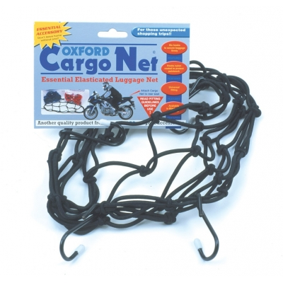 OXFORD síť CARGO NET 30x30cm OF127 black