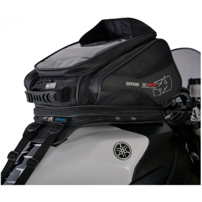 OXFORD tankbag S30R OL345 S popruhy black