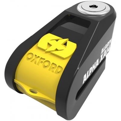 OXFORD kotúčový zámok ALPHA XA14 LK278 yellow