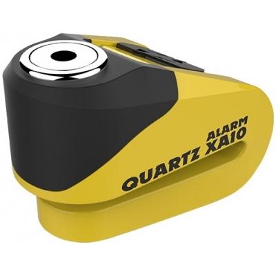 OXFORD kotoučový zámek QUARTZ XA10 LK272 yellow/black