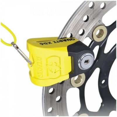 OXFORD kotoučový zámek QUARTZ XD6 LK265 yellow/black