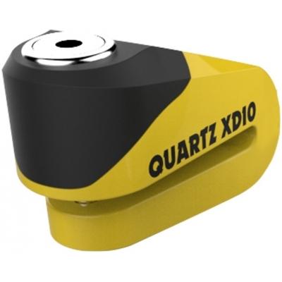 OXFORD kotúčový zámok QUARTZ XD10 LK267 yellow / black