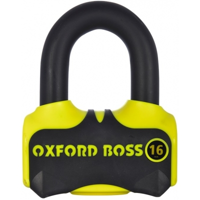 OXFORD zámek BOSS 16 yellow