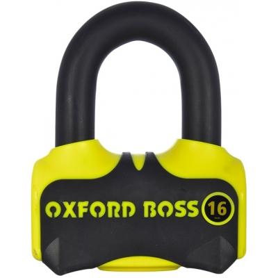OXFORD zámok BOSS 16 yellow