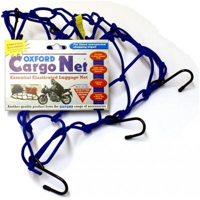 OXFORD síť CARGO NET 30x30cm OF129 blue