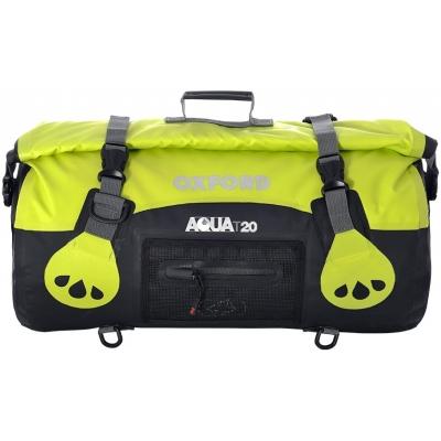 OXFORD roll bag T20 OL983 black/ fluo yellow