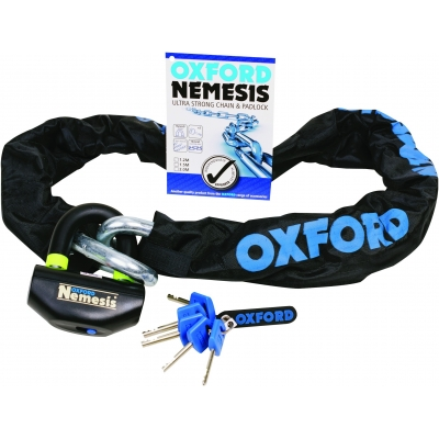 OXFORD řetězový zámek NEMESIS OF331 1.5m