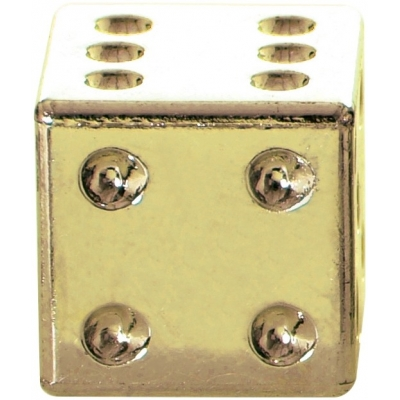 OXFORD čepičky ventilku LUCKY DICE OF893G gold