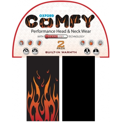 OXFORD šatky COMFY NW306 Thermolite flame
