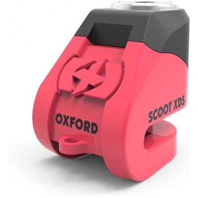 OXFORD kotoučový zámek SCOOT XD5 LK263 pink