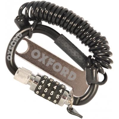 OXFORD zámok na prilbu LIDLOCK OX623 black
