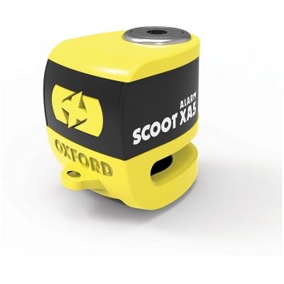 OXFORD kotoučový zámek SCOOT XA5 LK287 yellow/black