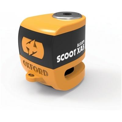 OXFORD kotoučový zámek SCOOT XA5 LK288 orange/black