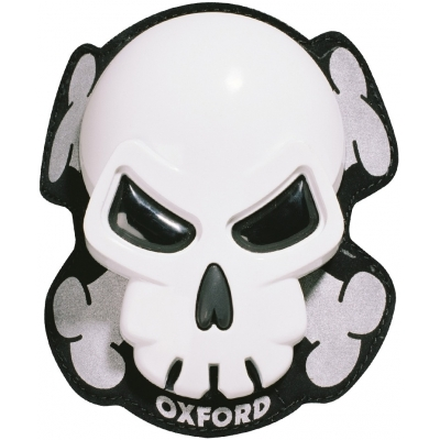 OXFORD slidery SKULL OF260 white