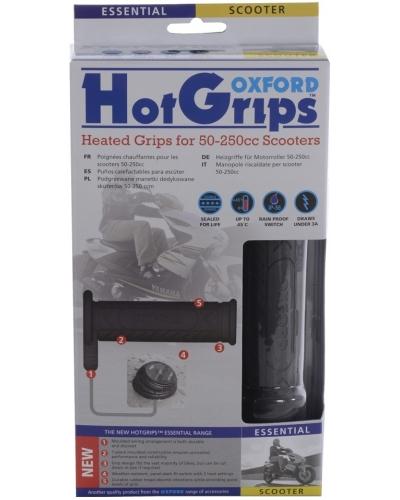 OXFORD vyhřívané gripy HOTGRIPS ESSENTAL SCOOTER OF772