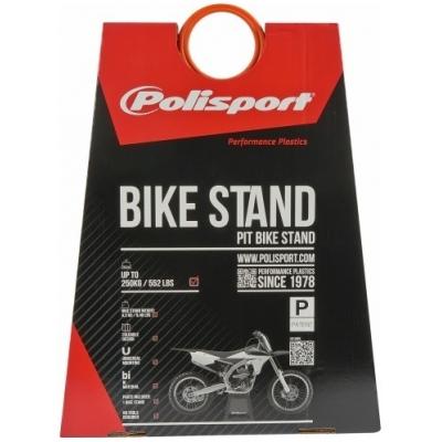 POLISPORT stojan pod motorku BIKE STAND black/blue