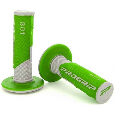 PROGRIP rukojeti 801 CROSS MX white/fluo green