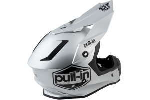 PULL-IN přilba SOLID 21 grey/silver