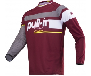PULL-IN dres CHALLENGER RACE 19 burgundy