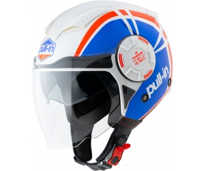 PULL-IN přilba OPEN FACE 21 blue/red