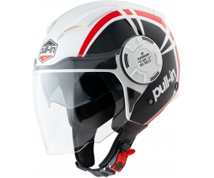 PULL-IN přilba OPEN FACE 21 red/black