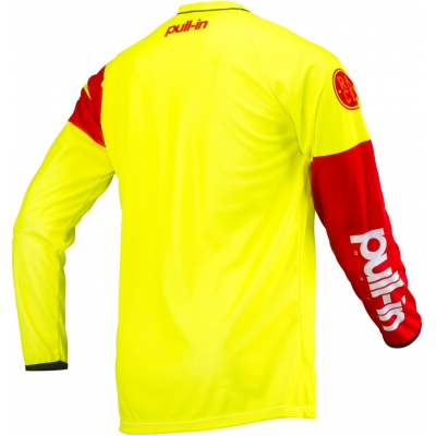 PULL-IN dres CHALLENGER RACE 19 neon yellow/red