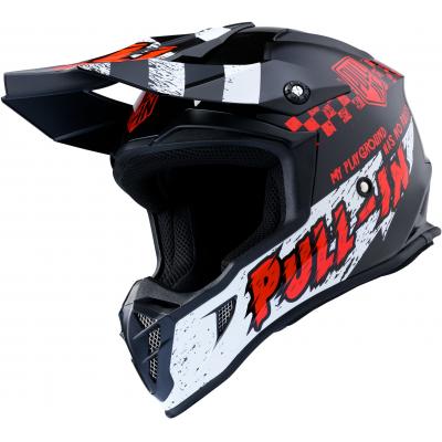 PULL-IN prilba TRASH 20 black / red