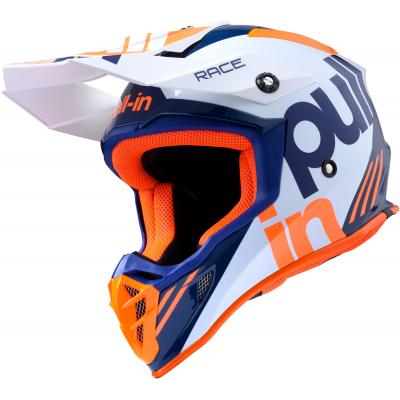 PULL-IN prilba RACE 20 orange / navy