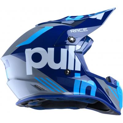PULL-IN prilba RACE 20 grey / cyan