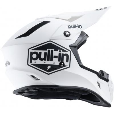 PULL-IN prilba SOLID 20 matt white