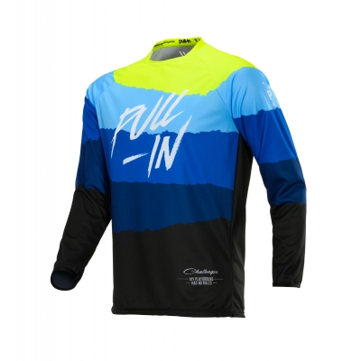 PULL-IN dres CHALLENGER ORIGINAL 20 tone blue/neon yellow