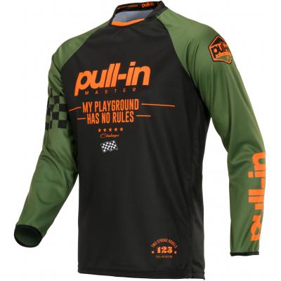 PULL-IN dres CHALLENGER MASTER 20 detský kaki / orange