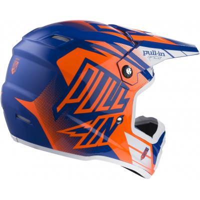 PULL-IN přilba dětská blue/neon orange